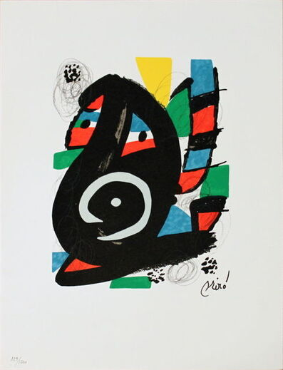 Joan Miró, 'Untitled (from La Melodie Acide XVIII)', 1980