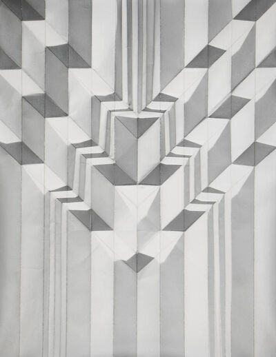 Christine Dalenta, 'Triple V Corrugation', 2015