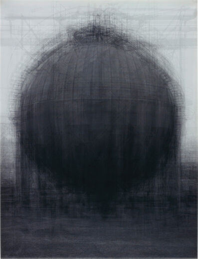 Idris Khan, 'Every … Bernd & Hilla Becher Spherical Type Gas Holders', 2004