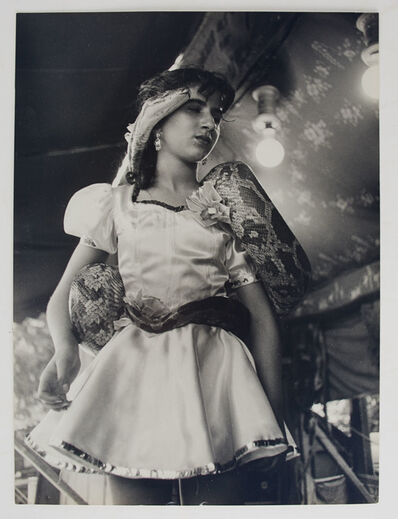 Izis (Israel Bidermanas), 'Two signed circus photographs and volume inscribed to Anne Horton'
