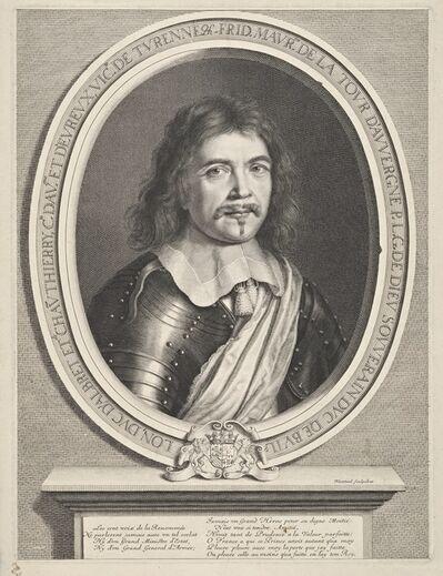 Robert Nanteuil, 'Fr'd'ric-Maurice de La Tour d'Auvergne, duc de Bouillon', 1655