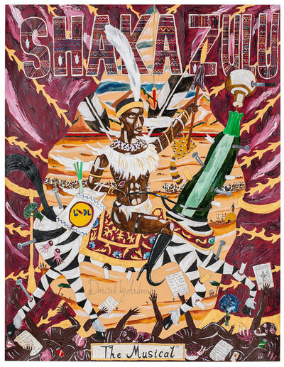 Andrew Gilbert, 'SHAKA ZULU - The Musical', 2016