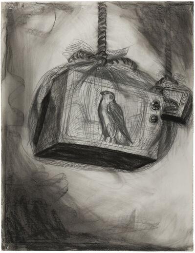 """Regina Vater, 'Desenho para vídeo instalação """"Nature""""', 1989"""