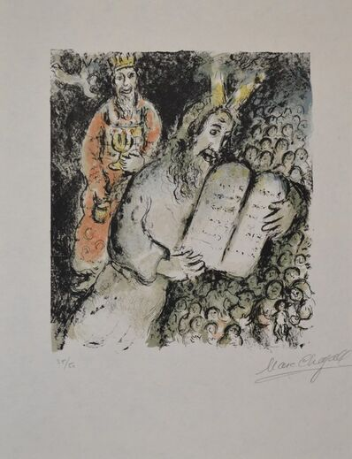 Marc Chagall, 'Moses and Aaron', 1979