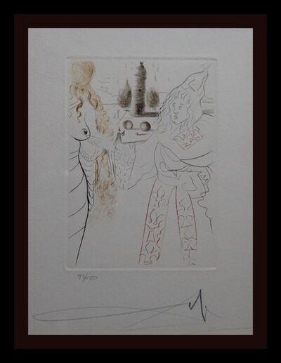 Salvador Dalí, ' Le Decameron La Femme Adultere', 1972