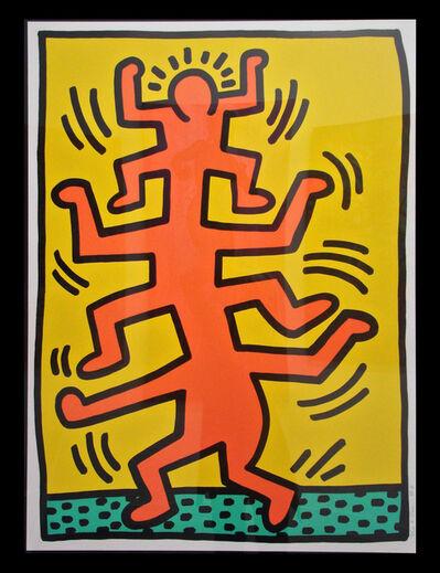 Keith Haring, 'Growing #1', 1988
