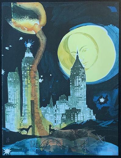 Salvador Dalí, 'Manhattan Skyline', 1976