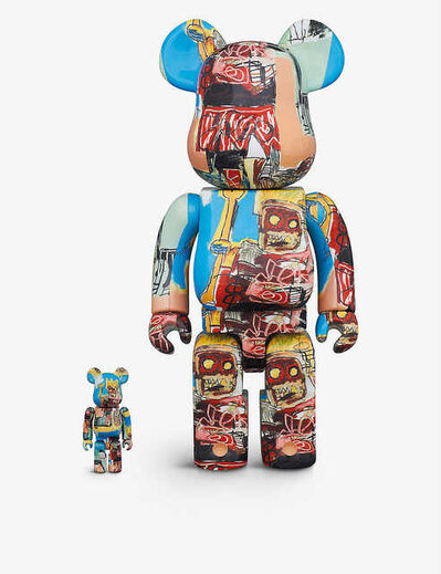 BE@RBRICK, 'BASQUIAT BE@RBRICK #6 100% & 400% FIGURES SET OF TWO', 2020