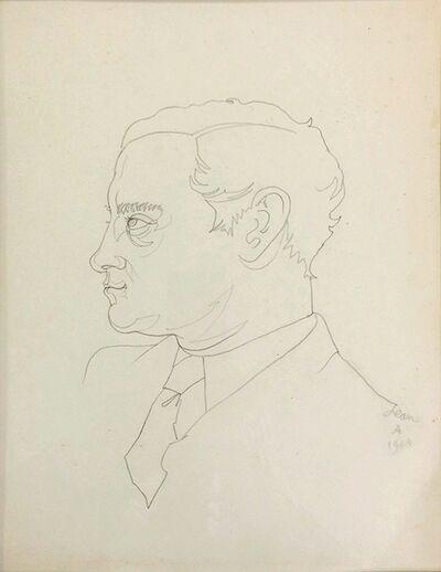 Jean Cocteau, 'Portrait de Georges Hugnet ', 1944