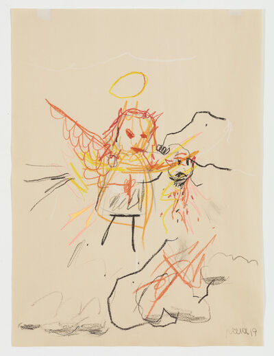 Robert Nava, 'Angel With Head', 2019