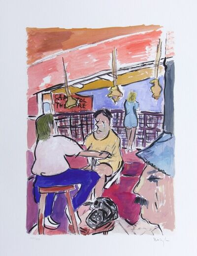 Bob Dylan, 'Bob Dylan Rooftop Bar Signed Giclee Etching - Contemporary Art', 2009