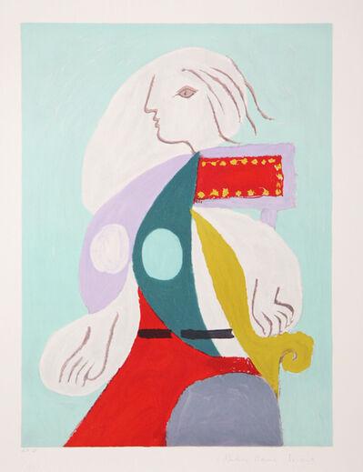 Pablo Picasso, 'Femme à la Robe Multicolore', 1973