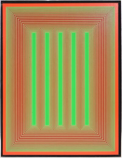 Richard Anuszkiewicz, 'Richard Anuszkiewicz, Untitled from the Temple series, 1985', 1985
