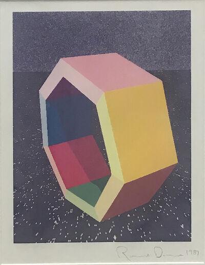 "Ronald Davis, 'Heptagon Study ""Ray-Trace"" Series', 1989"
