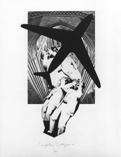 Marinus Boezem, 'Sculpture Gothique', 1981