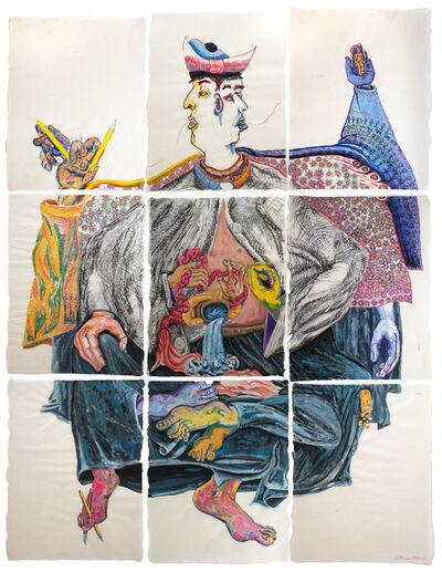 Daniel Heyman, 'Janus Kuya-Shonin', 2020