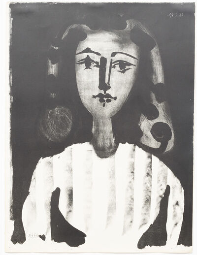 Pablo Picasso, 'Jeune Fille au Corsage rayé', 1949
