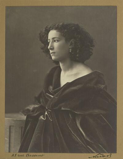 Nadar, 'Sarah Bernhardt', 1864