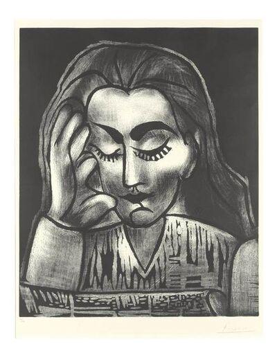 Pablo Picasso, 'Jacqueline Lisant', 1964