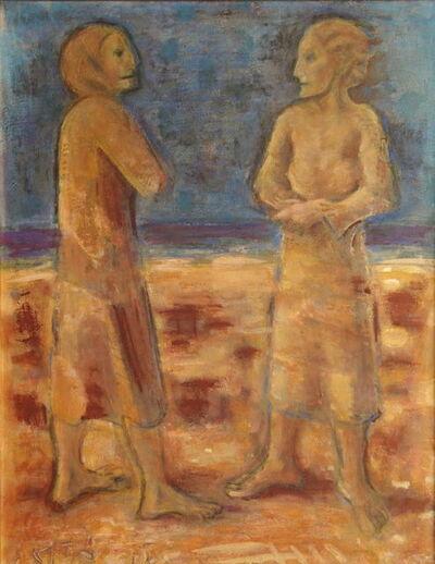 Pere Gastó, 'En la playa', 1975