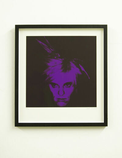 Gavin Turk, 'Fright Wig (Purple)', 2010