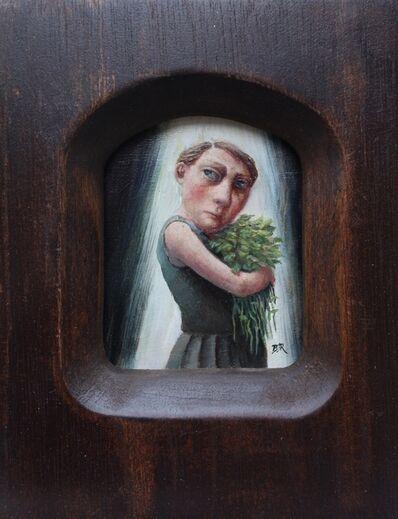 Bobbie Russon, 'Gathering Nettles', 2017