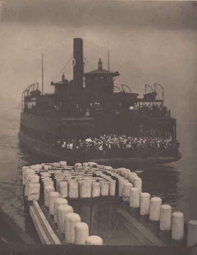 Alfred Stieglitz, 'The Ferry Boat (1910)', 1911