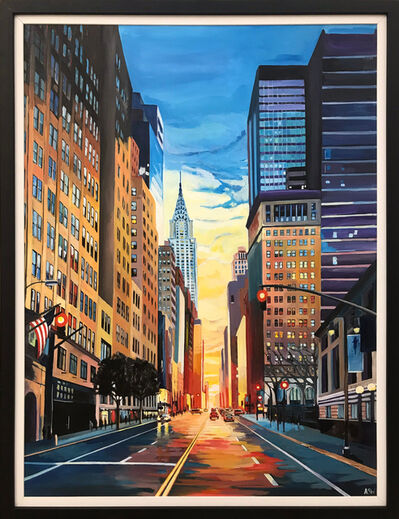 Angela Wakefield, 'Chrysler Building Sunset, New York City ', 2018