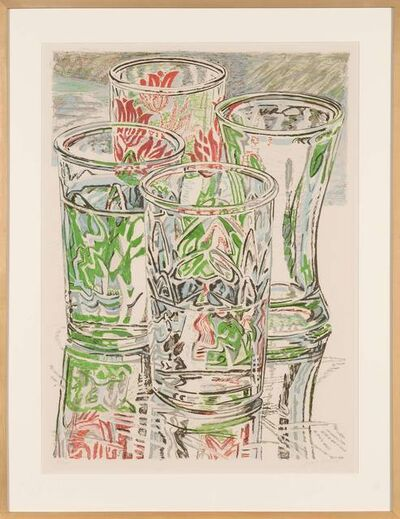 Janet Fish, 'UNTITLED (FOUR GLASSES)', 1976