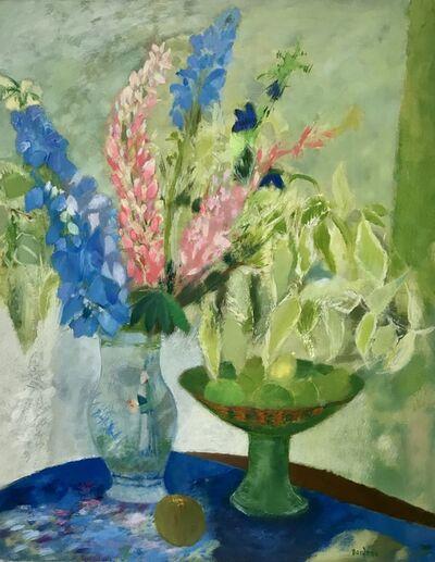 Guy Bardone, 'Bouquet aux lapins bleus', 1986