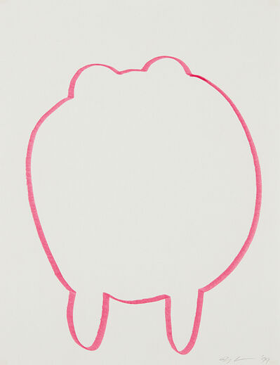 Jeff Koons, 'Walrus', 1999