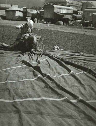 Zdenek Tmej, 'Place du cirque, Prague', 1945 / 1990c