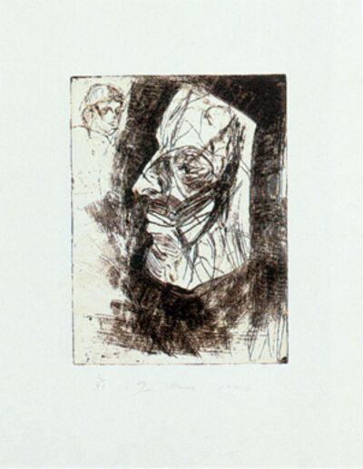 Jim Dine, '9 Studies for Winter Dream (Mask)', 1994
