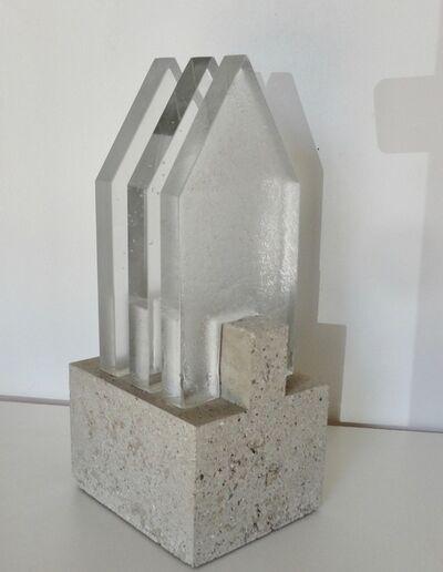 Christian von Sydow, 'Maison / assemblage sur béton', 2018