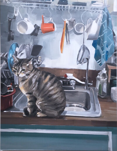 RU8ICON1, 'Billy at the Sink', 2021
