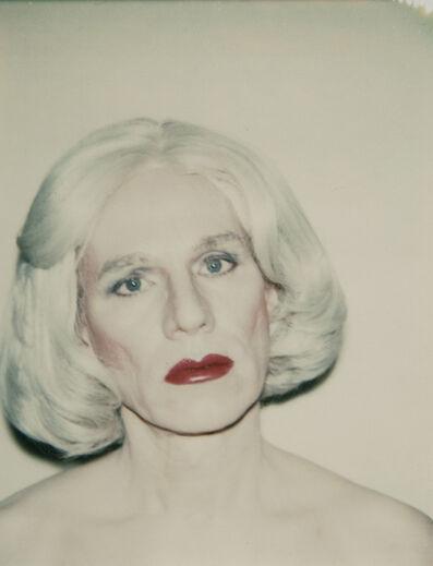 Andy Warhol, 'Self-Portrait in Drag',  1981
