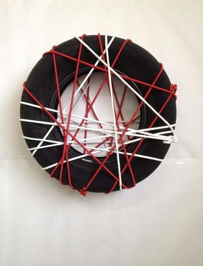 Thomas Hirschhorn, 'String-Tyre', 2014