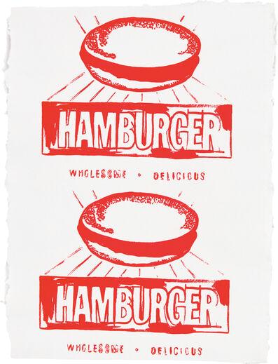 Andy Warhol, 'Hamburger (Double)', 1986