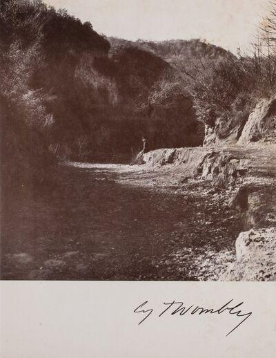 Cy Twombly, 'Una mostra di opere recenti', 1970