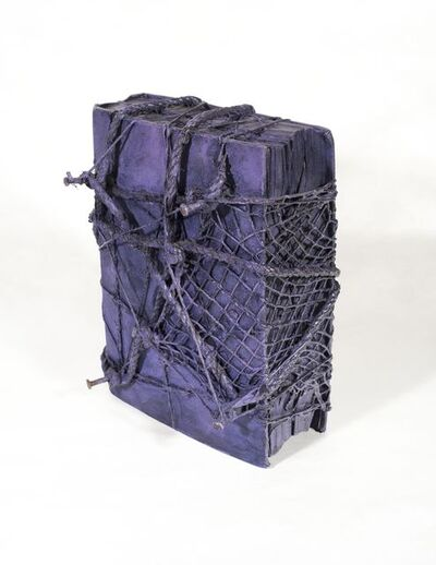 Barton Lidice Benes, 'Untitled (Purple Book with Rope and Nails)', ca. 1972-1974