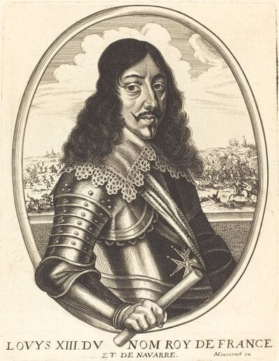 Balthasar Moncornet, 'Louis XIII, King of France'