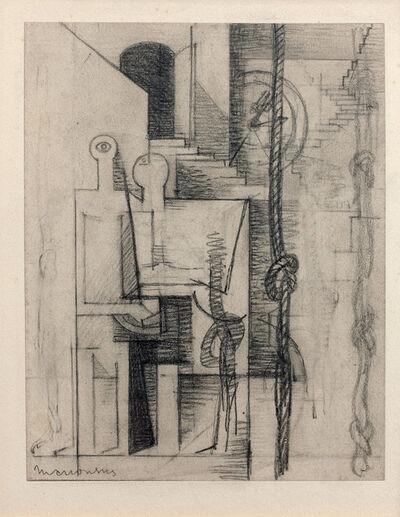 Louis Marcoussis, 'Asile de fous (Étude pour Aurélia)', 1930