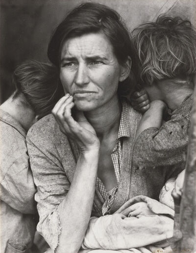 Dorothea Lange, 'Migrant Mother, Nipomo, California', 1936
