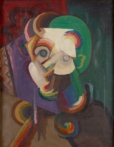 Antonin Procházka, 'Kopf III (Maske)', 1916