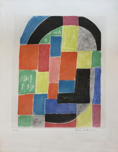 Sonia Delaunay, 'Cathédrale', ca. 1970