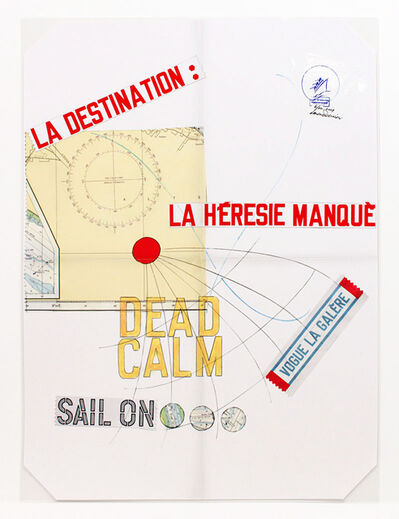 Lawrence Weiner, 'Vogue la galère (Dead Calm)', 2009