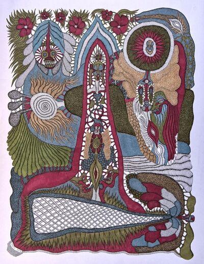 Evelyne Postic, 'Symboles tricolores', 2018
