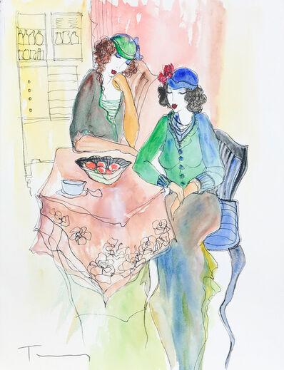 Itzchak Tarkay, 'UNTITLED (TWO WOMEN)', UNKNOWN