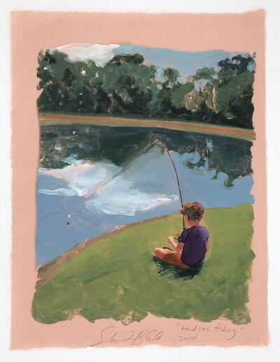 Sebastian Blanck, 'Hudson Fishing', 2014