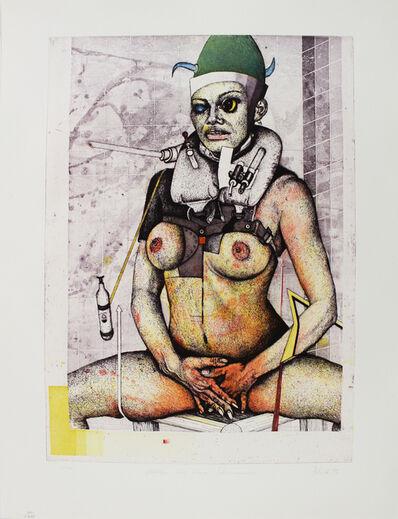 Wolfgang Petrick, ' Mädchen Mit Kleiner Schwimmweste', 1973